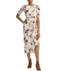 Maje Rondi Dress - Multicolour