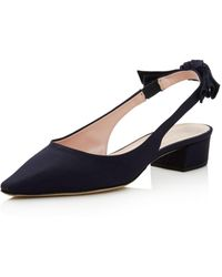Kate Spade - Women's Lucia Slingback Block Heel Court Shoes - Lyst