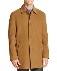 Cole Haan Wool Cashmere Topper Coat - Multicolour