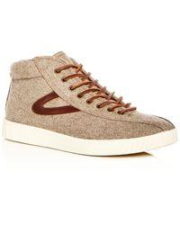 Tretorn - Men's Nylite Wool Mid Top Sneakers - Lyst