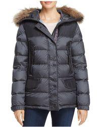 Parajumpers | Lynn Fur Trim Down Coat | Lyst