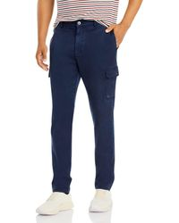 PAIGE Barlow Straight Fit Cargo Pants - Blue