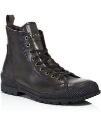 John Varvatos - Heyward Lace Boots - Lyst