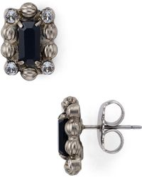 Sorrelli Senecia Stud Earrings - Black
