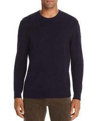 Bloomingdale's Ribbed Cable - Knit Sweater - Blue