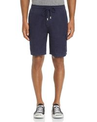Vilebrequin Solid Drawstring Shorts - Blue