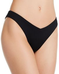 Aqua Swim Sunset Boulevard High - Leg V - Bottom Bikini Bottom - Black