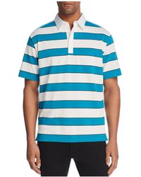 Theory - Rugby Stripe Polo Shirt - Lyst