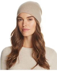 C By Bloomingdale's Angelina Cashmere Slouch Hat - Multicolour