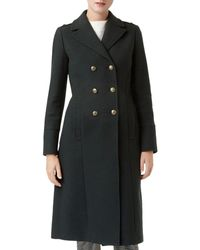 Hobbs - Bianca Double - Breasted Coat - Lyst