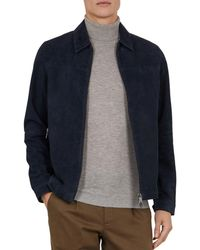ce798bd47 Lyst - Ted Baker  jarbrig  Field Jacket in Blue for Men