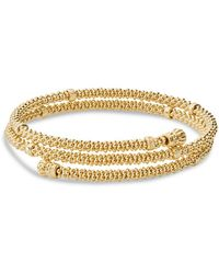 Lagos - Caviar Gold Collection 18k Gold Coil Bracelet - Lyst