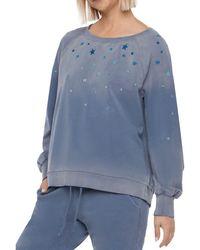 Billy T Stardust Sweatshirt - Blue