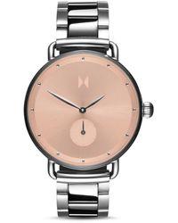 MVMT Bloom Blush Dhalia Stainless Steel Bracelet Watch 36mm - Metallic