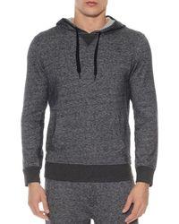 2xist 2(x)ist Terry Pullover Hoodie Lounge Sweatshirt - Gray