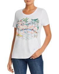 Tommy Bahama Flamingo - Graphic Tee - White