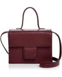 Steven Alan - Meryl Medium Leather Box Bag - Lyst