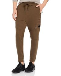 C.P. Company Regular Fit Sweatpants - Brown