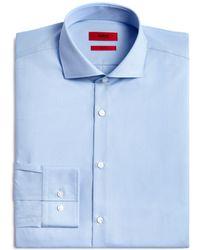 HUGO - Jason Slim Fit Dress Shirt - Lyst