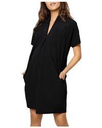 Ingrid & Isabel Everywhere Maternity Tunic Dress - Black