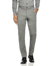 Theory Zaine Witten Slim Fit Trousers - Gray