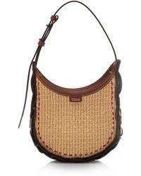 Chloé Darryl Small Hobo Shoulder Bag - Brown