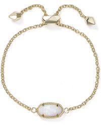 Kendra Scott | Elaina Kyocera Opal Bracelet | Lyst