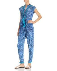 Poupette - Donna Printed Jumpsuit - Lyst