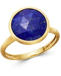 Marco Bicego - 18k Yellow Gold Lapis Medium Stackable Ring - Lyst