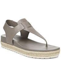 2d1e2b04409 Vince Emilia Platform Espadrille Sandals in White - Lyst