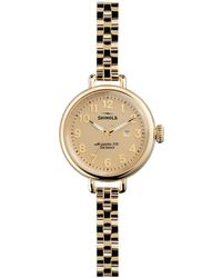 Shinola - Birdy 34mm Bracelet Watch - Lyst