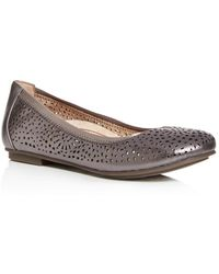 Vionic Women's Robyn Perforated Ballet Flats - Multicolour