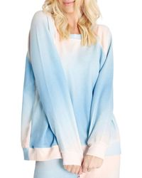 Wildfox Grotto Sommers Sweatshirt (45% Off) - Comparable Value $128 - Blue