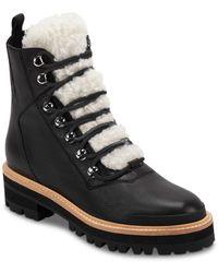 Marc Fisher - Izzie Shearling Fur Hiker Boots - Lyst
