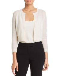 C By Bloomingdale's Cashmere Bolero - White