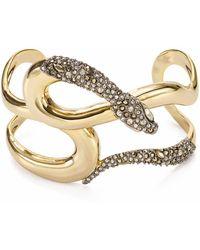 Alexis Bittar - Snake Cuff Bracelet - Lyst