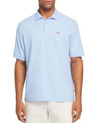 Tommy Bahama Emfielder 2.0 Classic Fit Polo Shirt - Blue