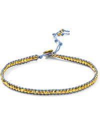 Chan Luu - Beaded Wrap Ankle Bracelet - Lyst
