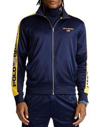 Polo Ralph Lauren Polo Sport Fleece Track Jacket - Blue