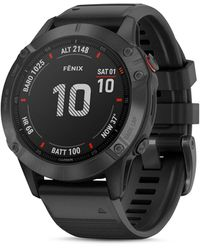 Garmin Fenix 6s Black Silicone Strap Smartwatch