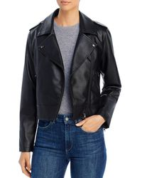 Bagatelle Faux - Leather Moto Jacket - Black
