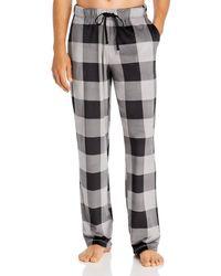 Daniel Buchler Checkered Pyjama Pants - Multicolour