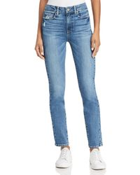 PAIGE - Hoxton Ankle Peg Jeans In Chandra - Lyst