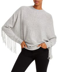 Minnie Rose - Fringed Cashmere Sweater - Lyst