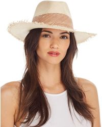 Rag & Bone - Frayed Panama Hat - Lyst