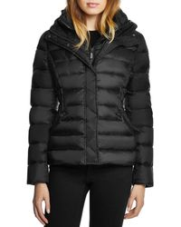 Dawn Levy Miki Hooded Short Puffer Coat - Black