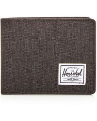 Herschel Supply Co. Hank Rfid Bifold Wallet - Black