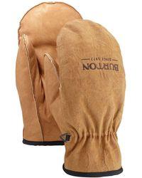 Burton Work horse mittens estampado - Marrón