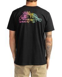 Billabong - Peligrosa T-Shirt negro - Lyst
