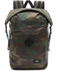 Vans Fend Roll Top Backpack camuflaje - Verde
